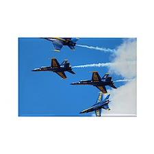 Blue Angels Rectangle Magnet