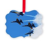 Blue angels Picture Frame Ornaments