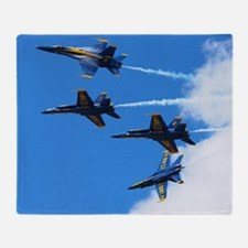 Blue Angels Throw Blanket