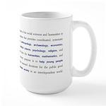 Definition Mug, Large