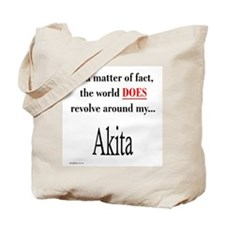 Akita World Tote Bag