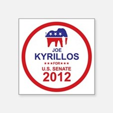 "2012_joe_kyrillos_main Square Sticker 3"" x 3"""