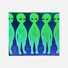 11x17_spaceinvaders Throw Blanket