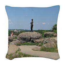 018 Woven Throw Pillow
