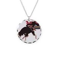 ava weight pull color block Necklace