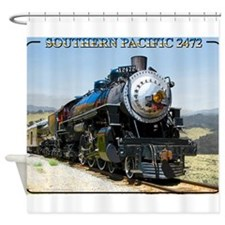 Cute Railroad Shower Curtain