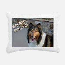 collie skin Rectangular Canvas Pillow