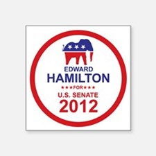 "2012_edward_hamilton_main Square Sticker 3"" x 3"""