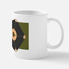 tasmanian devil on rectangle Mug