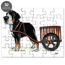 betty-on-cart-cuout Puzzle