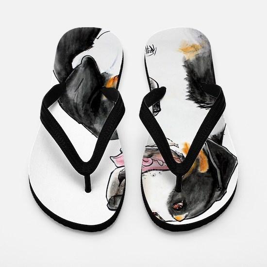 dolly-fro-cutout Flip Flops