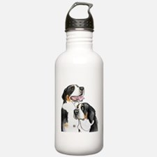 dolly-fro-cutout Water Bottle