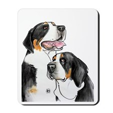 dolly-fro-cutout Mousepad