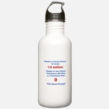 Palestinian Racism Water Bottle