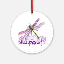 dragonflytotem Round Ornament