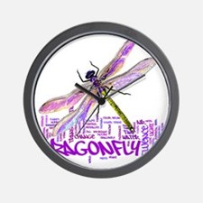 dragonflytotem Wall Clock
