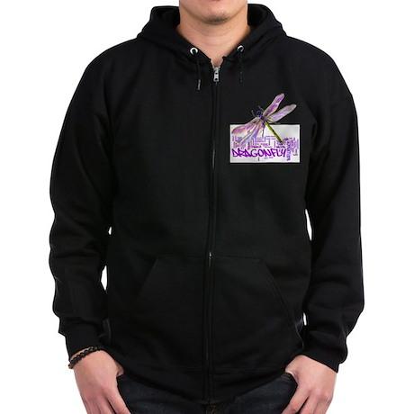 dragonflytotem Zip Hoodie (dark)