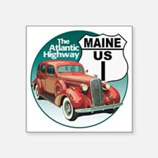 "1-ME-36Buick-C10trans Square Sticker 3"" x 3"""