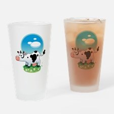 Carly-The-Cow Drinking Glass