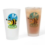 Bumble bee stuff Pint Glasses
