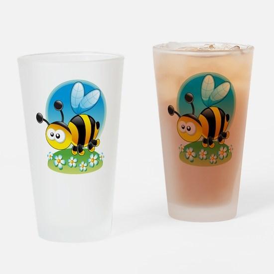 BumbleBee Drinking Glass