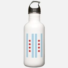 Chicago Flag Flip Flop Sports Water Bottle