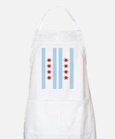 Chicago Flag Flip Flops Apron