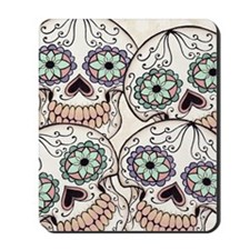 Day of the Dead Flip Flops Mousepad