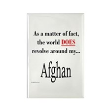 Afghan World Rectangle Magnet