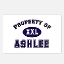 Property of ashlee Postcards (Package of 8)
