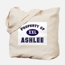 Property of ashlee Tote Bag