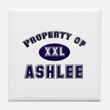 Property of ashlee Tile Coaster