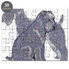 begin kerry blue terrier4 Puzzle