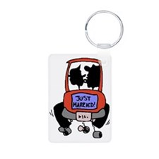 just-wed Keychains