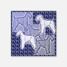 "kerry blue2 Square Sticker 3"" x 3"""