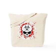 Zombie Hunter 3 white Tote Bag