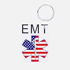 EMT flag Keychains
