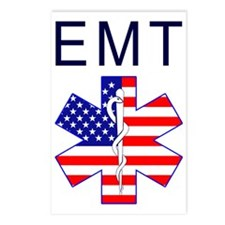 EMT flag Postcards (Package of 8)