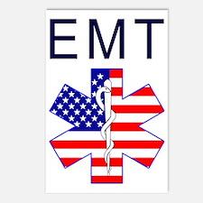 EMT flag Postcards (Package of 8)