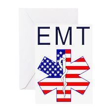EMT flag Greeting Card