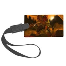 orc skin Luggage Tag
