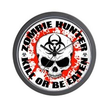 Zombie Hunter 3 Wall Clock