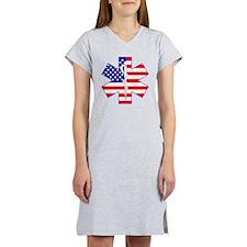 Flag Star Women's Nightshirt