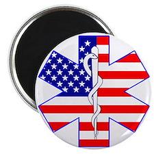 Flag Star Magnet