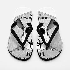 Zombie Response Team Colorado Springs Flip Flops