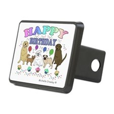 HAPPYBDAYPETS Hitch Cover