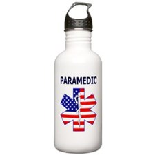 pARAMEDIC FLAG Water Bottle