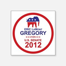 "2012_eric_gregory_main Square Sticker 3"" x 3"""
