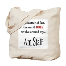 Am Staff World Tote Bag