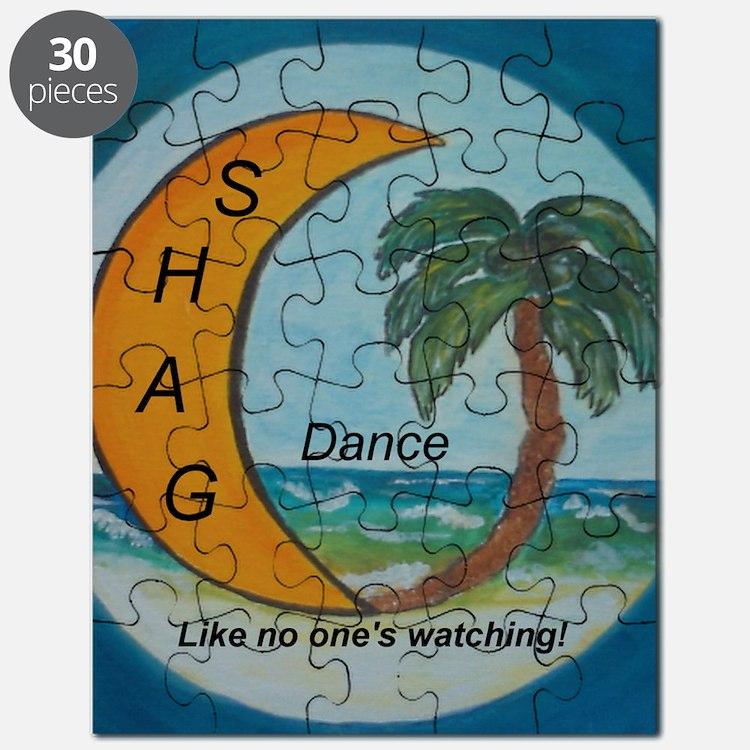 Shag Blue August 21 Puzzle